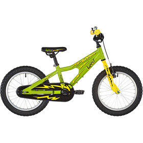 Ghost Powerkid AL 16 Niños, riot green/cane yellow/night black